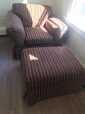 Domain chair with ottoman for Sale in Boston, MA