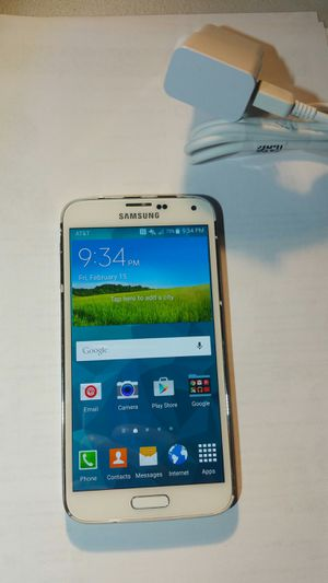 Galaxy s5 AT&T unlocked for Sale in Herndon, VA