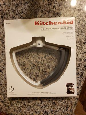 KitchenAid 6-QT Bowl-lift Edge Beater for Sale in Port St. Lucie, FL