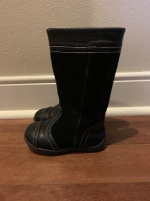 See Kai Run black boots size 8 1/2 toddler girls for Sale in Bothell, WA