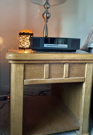 Pair of wood End tables 21x21x25deep for Sale in Concord, CA