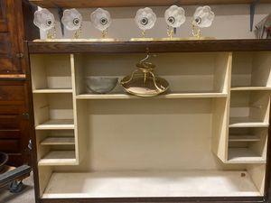 Modular Desk Shelf & Bathroom Lights for Sale in Lochearn, MD