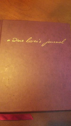 A Wine Lover's Journal Book for Sale in Dallas, TX