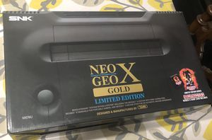 Neo Geo X Gold limited edition for Sale in Commerce, CA