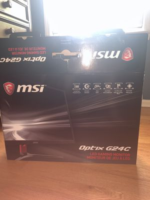 Msi Optix G24C LED Gaming Monitor for Sale in Hoffman Estates, IL