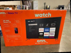 "Brand new ROKU ONN TV 50"" inch! Open box w/warranty NUJDA for Sale in Dallas, TX"