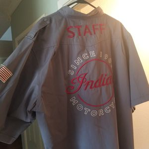 XXL INDIAN MOTORCYCLE SHIRT for Sale in Perris, CA