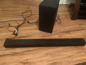 Samsung 2.1ch sound bar with wireless 170w subwoofer wh-t40m (2020) for Sale in Arlington, TX