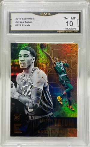Jayson Tatum Graded Rookie Card! Plus Bonus Cards! Boston Celtics! for Sale in Dallas, TX