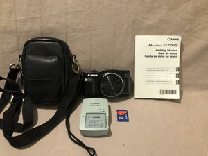 New hardly used Canon SX710 HS digital camera with SIM card, retails for $299 for Sale in Vacaville, CA