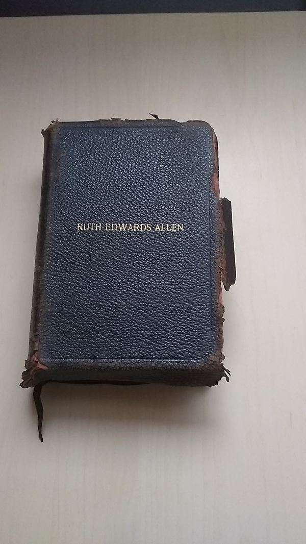 Holy Bible RUTH EDWARDS ALLEN
