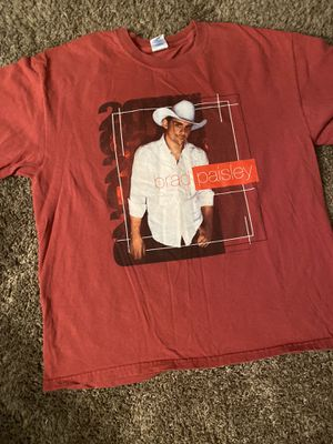2005 Brad Paisley official tour shirt country music for Sale in Canton, OH