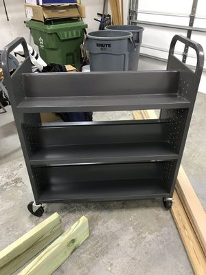 Sandusky Full Metal Bookcase for Sale in Richland Hills, TX