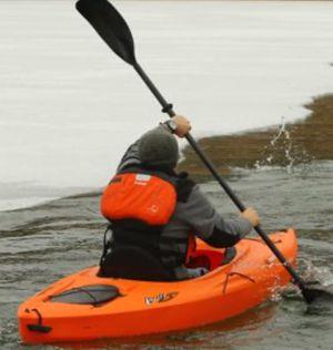 New!! Boat, kayak, sit in kayak, adjustable seat kayak, paddle included for Sale in Phoenix, AZ