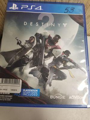 (MXP008562) Destiny 2 Ps4 for Sale in Lakeland, FL