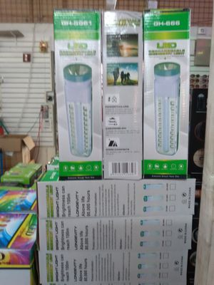 Sports and outdoor portable and rechargeable lamp, for Camp, boats or job. It's pure white lights Very bright$15 if you buy 3$35 for Sale in Miami Gardens, FL