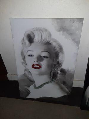 Marilyn Monroe Canvas Wall Art for Sale in Houston, TX