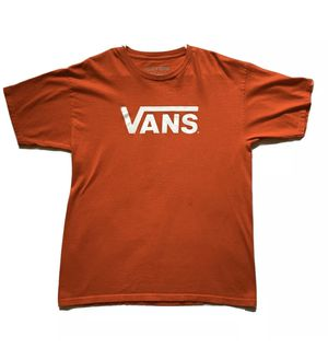 Vintage VANS Big Logo T-Shirt - Red Men's - LARGE for Sale in Temecula, CA