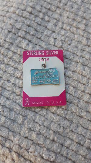 South Dakota Vintage Sterling Silver Charm for Sale in Chandler, AZ