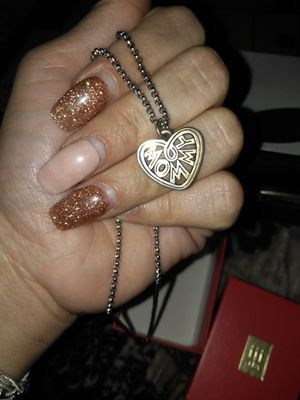James Avery Mommy Charm On Extra Heavy Cable Chain for Sale in Austin, TX