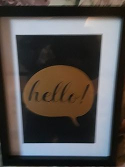 frame hello photo frame 14 by 11 for Sale in Rochester,  NY