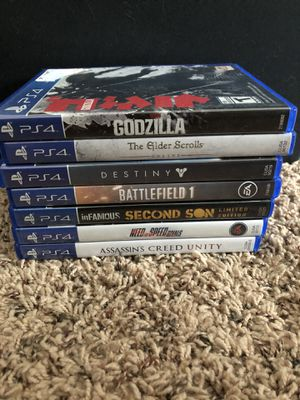 PS4 Game Lot for Sale in Chippewa Falls, WI