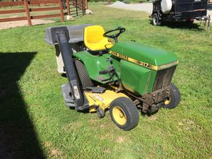 Jd317 mower with blower 48 for Sale in Leavenworth, WA