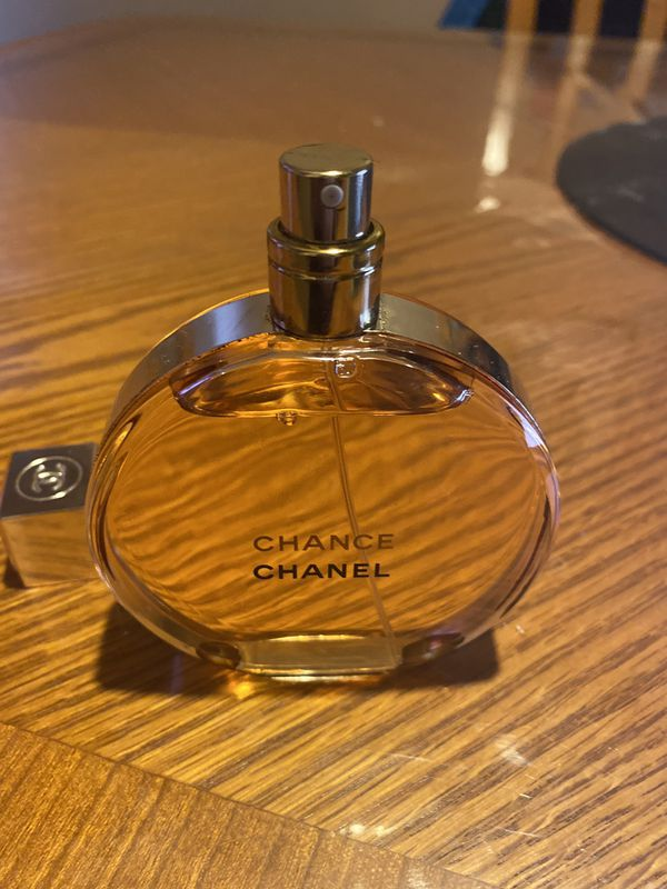 Chanel Chance Eau De Parfum 3.4 Oz. Tester (BOTTLE ONLY, NO TESTER BOX)100% AUTHENTIC! WOMEN PERFUME (BRAND NEW) PLEASE READ DESCRIPTION