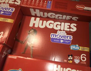 Huggies Plus Size 6 Little Movers for Sale in Las Vegas, NV