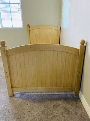 Solid wood twin bed for Sale in Gilbert, AZ
