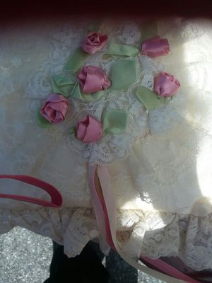 Satin and Lace Pillow for Sale in Charles Town, WV