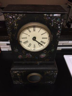 Antique cast iron mantle clock for Sale in St. Pete Beach, FL