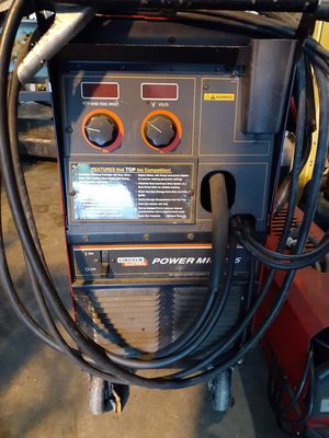 Lincoln Electric Power Mig 255 welder w/ prince spool gun for Sale in Portland, OR