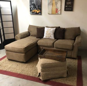 🛋 Comfy Sectional Sofa- Microfiber 🛋⭐️⭐️⭐️🚚 for Sale in San Jose, CA