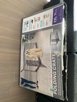 You&me 2-door folding dog crate for Sale in San Francisco, CA