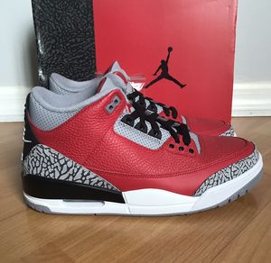 NEW Air Jordan 3 Retro Unite 'Fire Red' Mens Shoes for Sale in Tamarac, FL