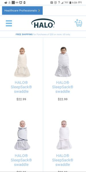 Baby Swaddle sleep sacks for Sale in Colorado Springs, CO