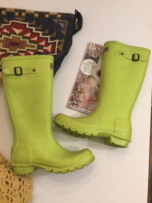 Hunter rain boots size 6 for Sale in MONARCH BAY, CA