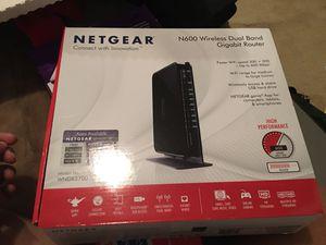 Netgear N600 Dual Band Gigabit Router for Sale in Centreville, VA