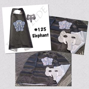 Elephant Cape and Mask Set (Great for Easter Baskets!) for Sale in South Jordan, UT