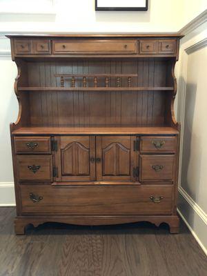 Vintage antique cabinet sideboard bookshelf for Sale in Atlanta, GA