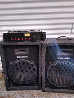 Dj party and pa equipment for Sale in Upland, CA
