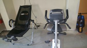 Exercise equipment, Bike, Ab Lounge, Treadmill, Excersize Bike for Sale in Las Vegas, NV
