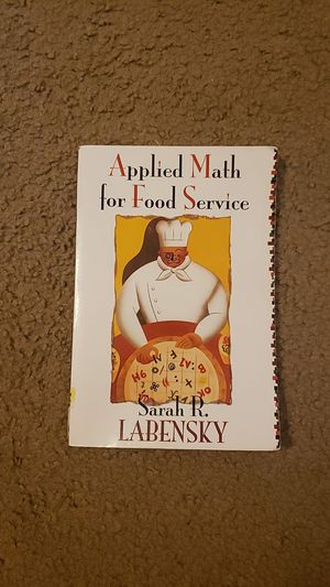 Applied Math for Food Service by Sarah R. Labrensky for Sale in Baton Rouge, LA