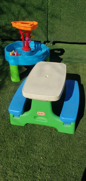 Toddler Water Table and Picnic Table (DELIVERY AVAILABLE 🚚) for Sale in Henderson, NV