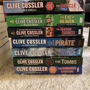 Clive Cussler Fargo Series for Sale in Alameda, CA