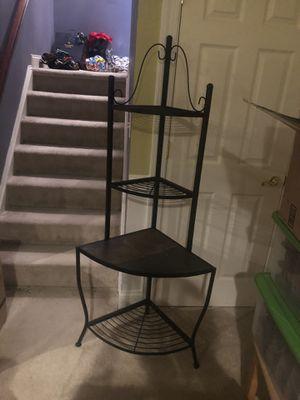 Corner 4-tier Baker's Rack for Sale in Chestertown, MD