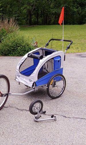 Convertible bike trailer stroller for Sale in Nashua, NH