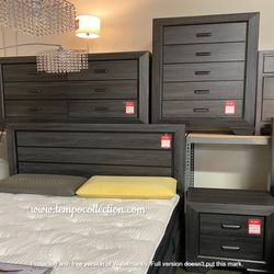 NEW IN THE BOX.BEDROOM SET: QUEEN BED +DRESSER+NIGHTSTAND SKU#TC1904GY-SET for Sale in Huntington Beach,  CA