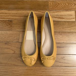 Banana Republic Mustard Ballet Flats for Sale in Silver Spring, MD